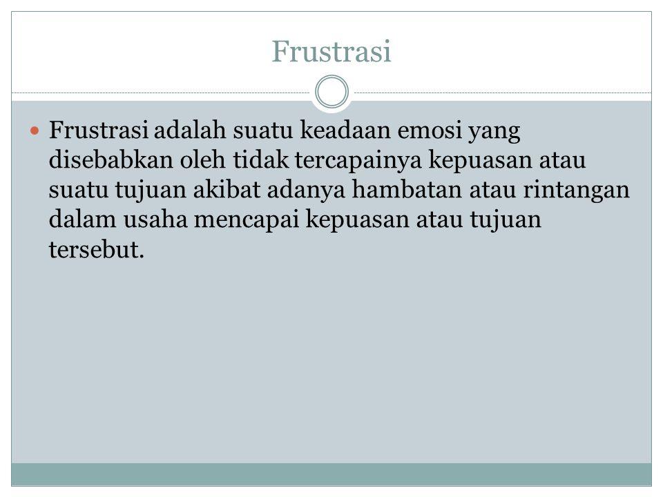 Frustrasi