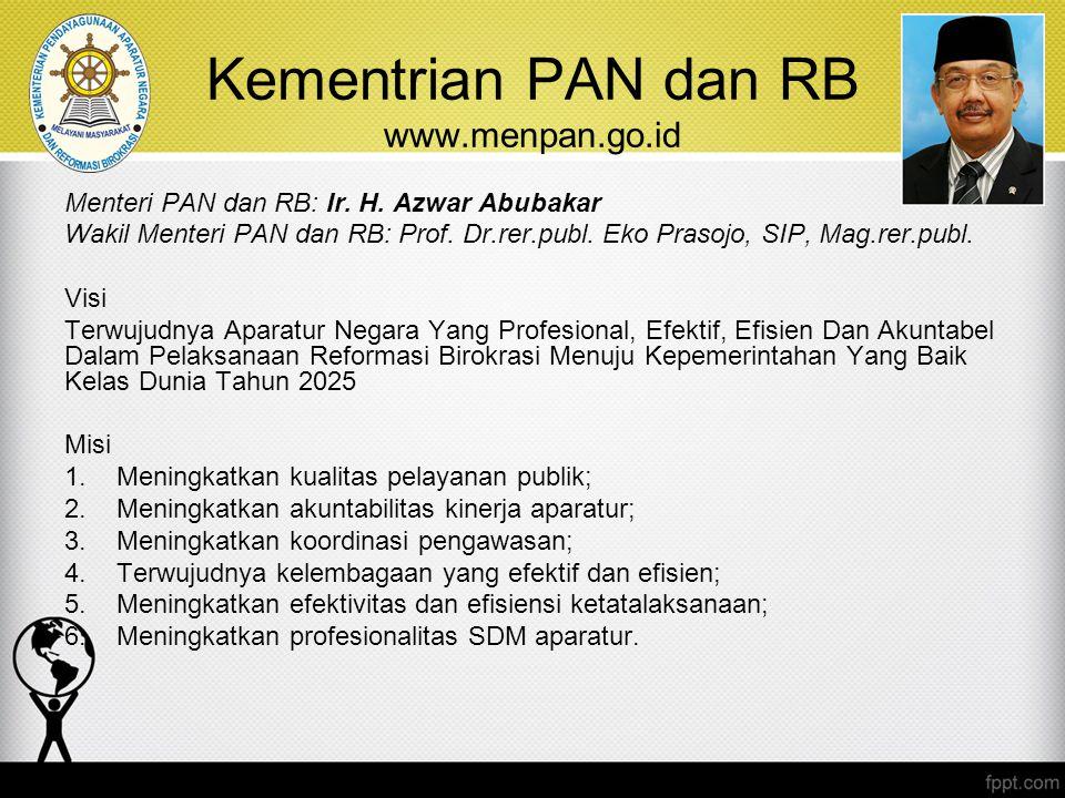 Kementrian PAN dan RB www.menpan.go.id