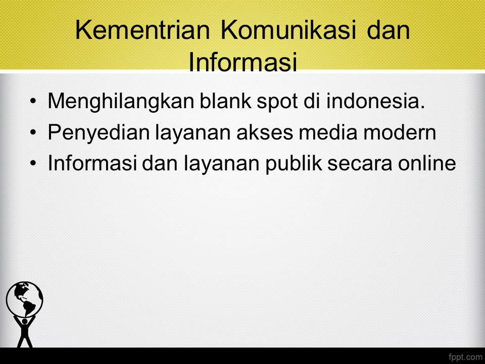 Kementrian Komunikasi dan Informasi
