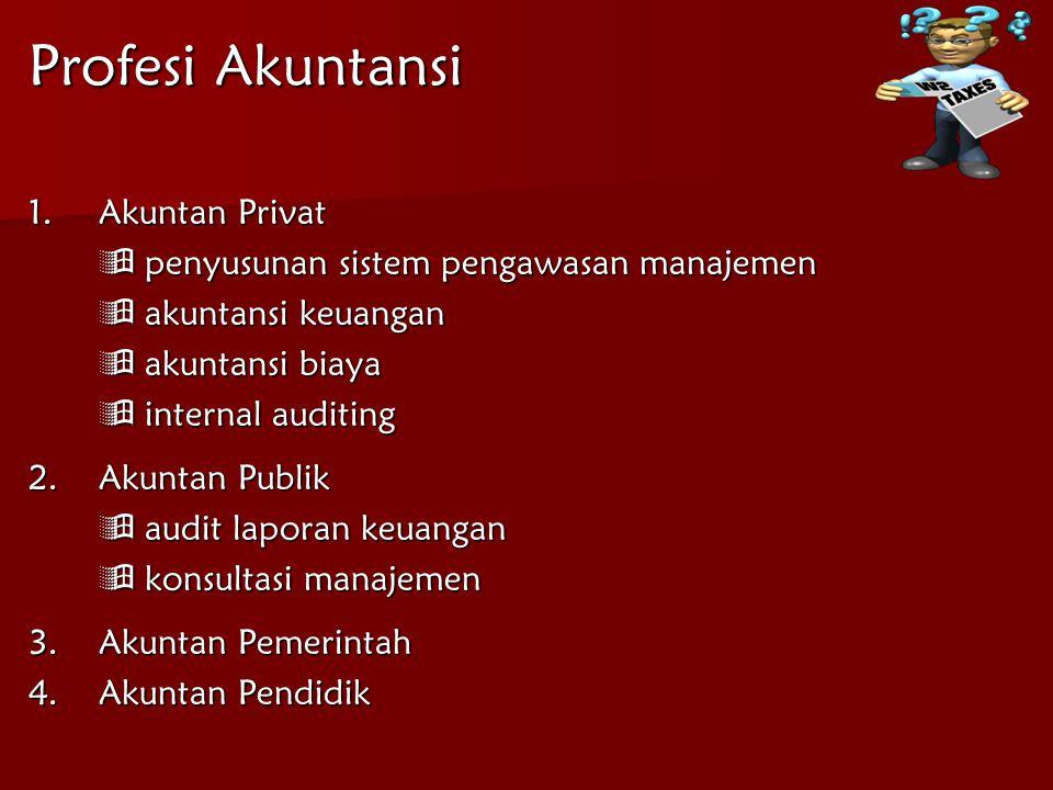 Profesi Akuntansi Akuntan Privat