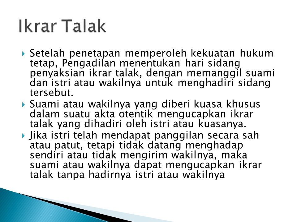 Ikrar Talak