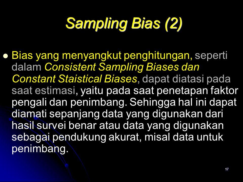Sampling Bias (2)
