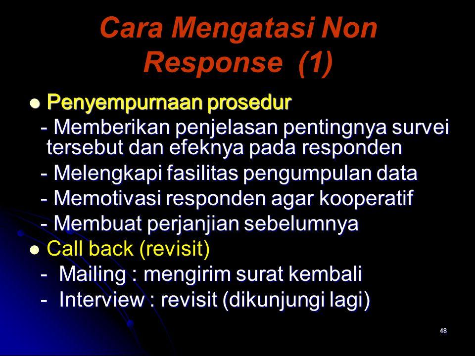Cara Mengatasi Non Response (1)