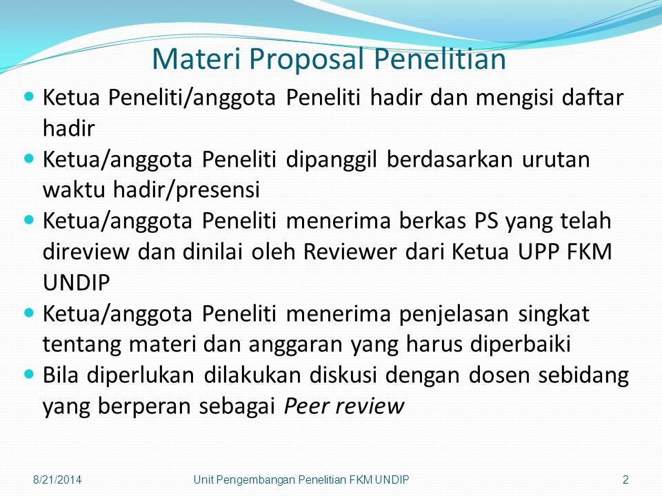 Materi Proposal Penelitian