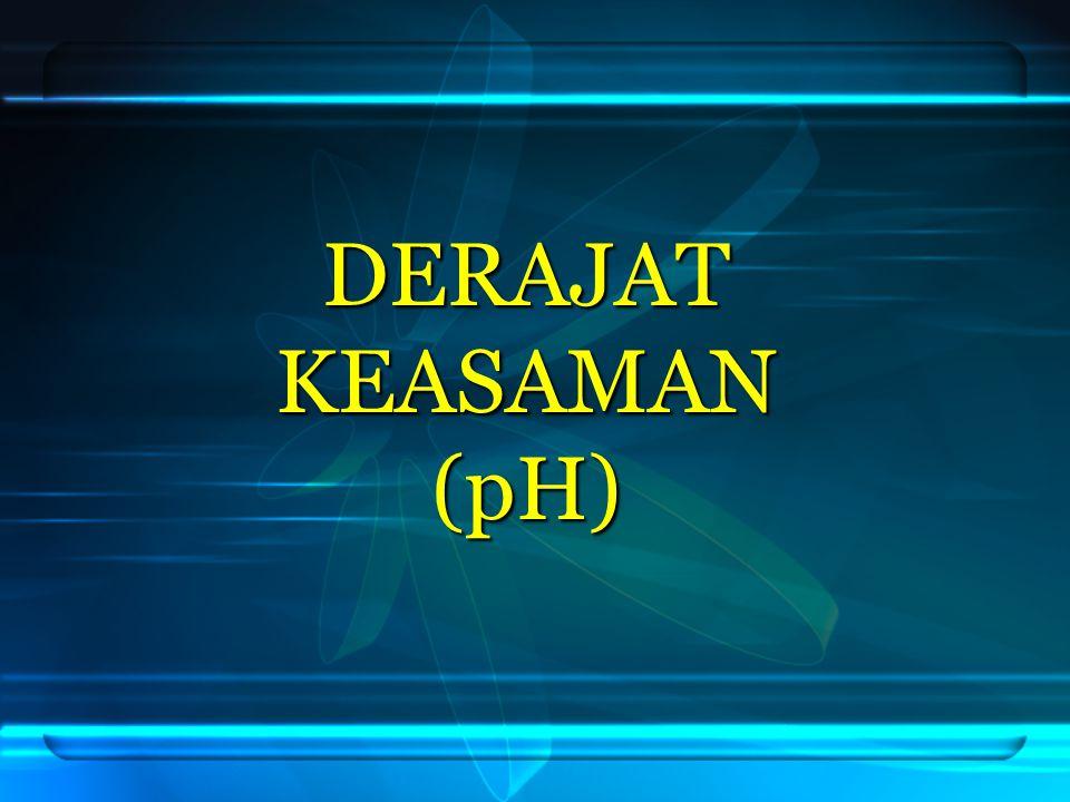 DERAJAT KEASAMAN (pH) 1