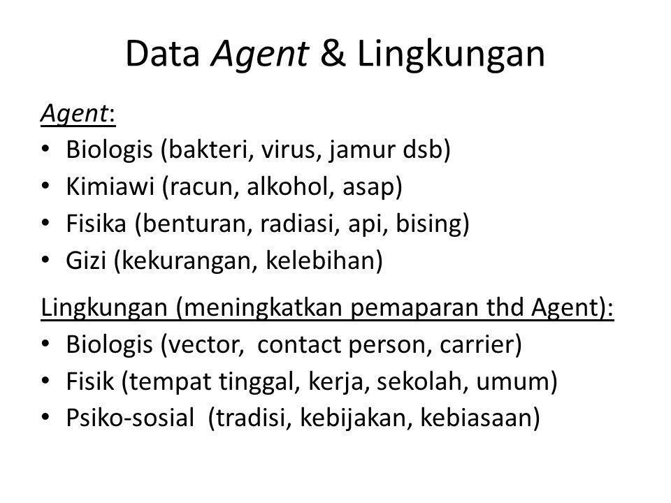 Data Agent & Lingkungan