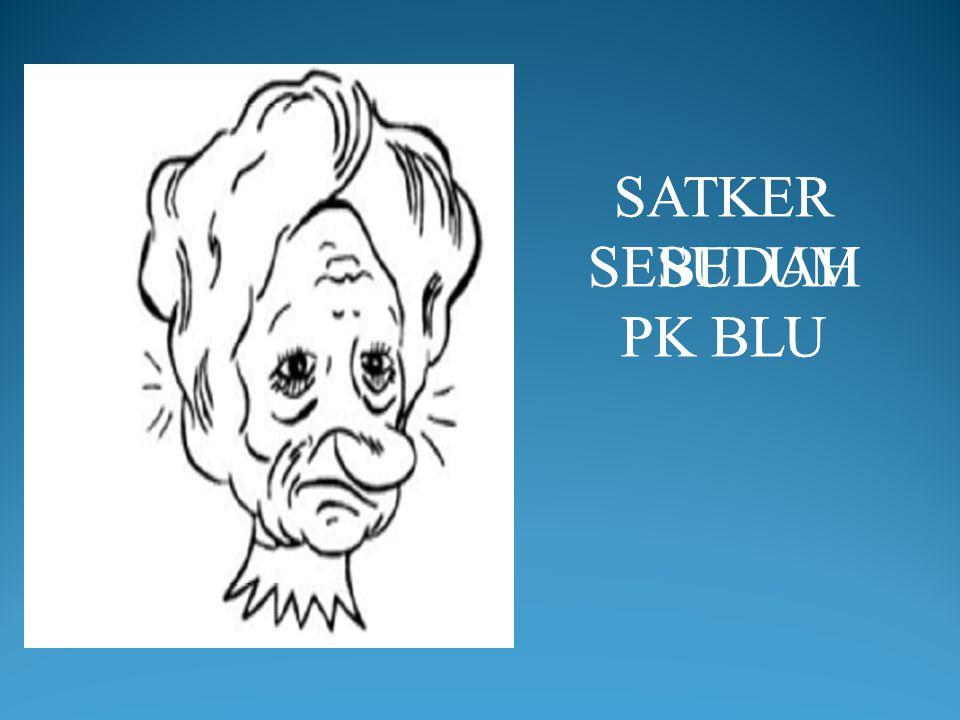 SATKER SESUDAH PK BLU SATKER SEBELUM PK BLU