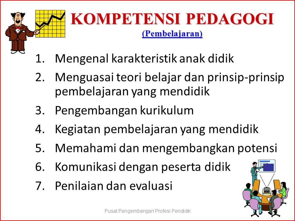 KOMPETENSI PEDAGOGI (Pembelajaran)