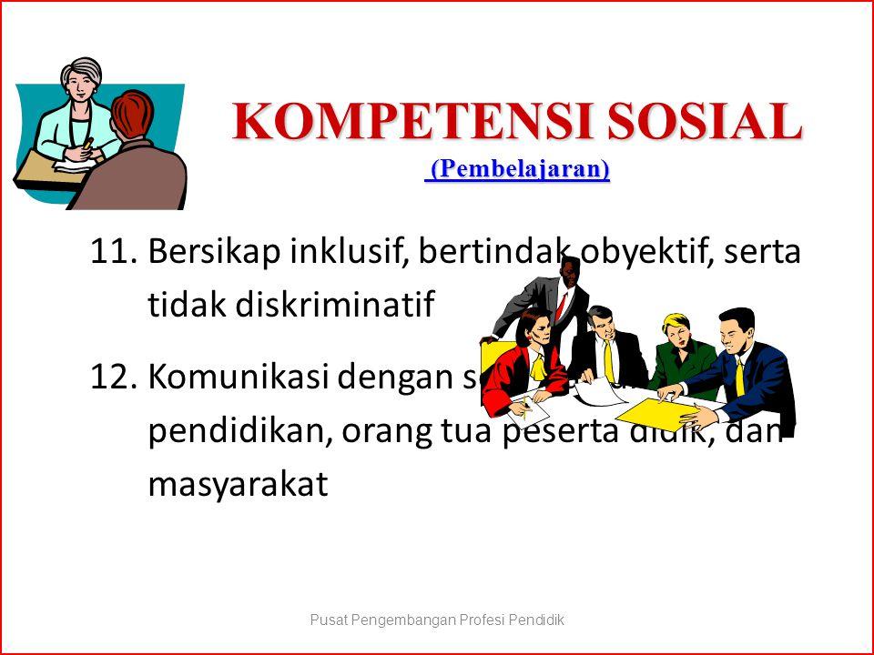 KOMPETENSI SOSIAL (Pembelajaran)