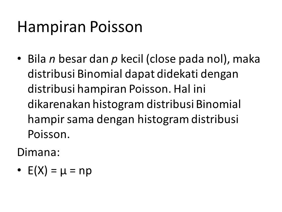 Hampiran Poisson