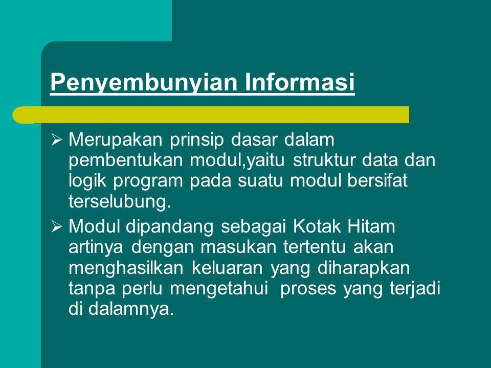 Penyembunyian Informasi