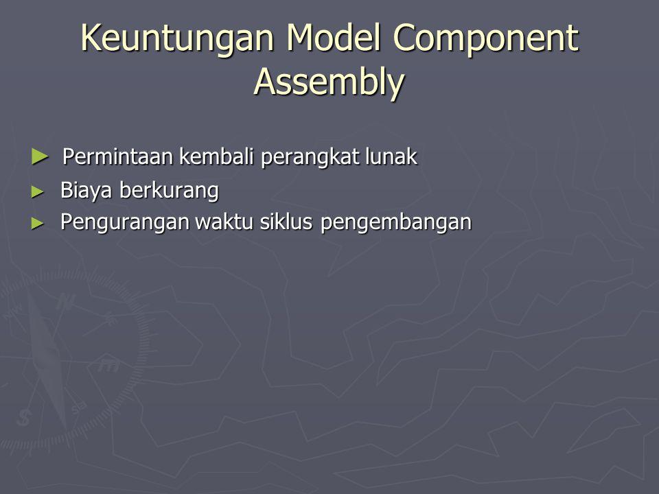 Keuntungan Model Component Assembly