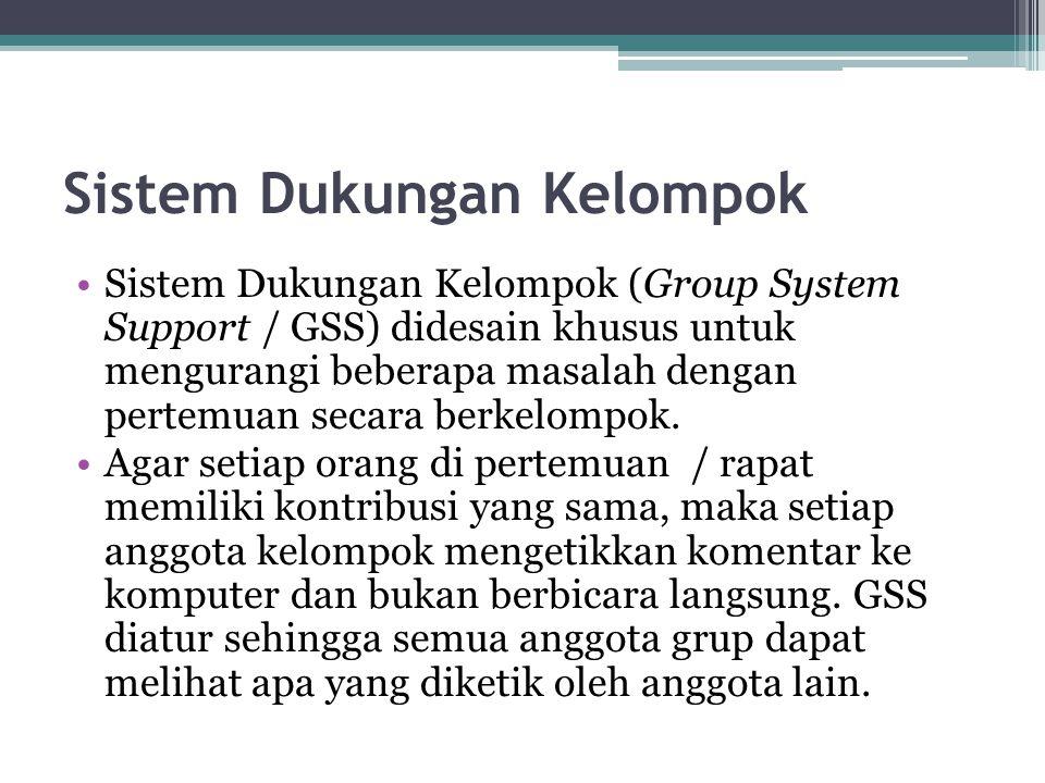 Sistem Dukungan Kelompok