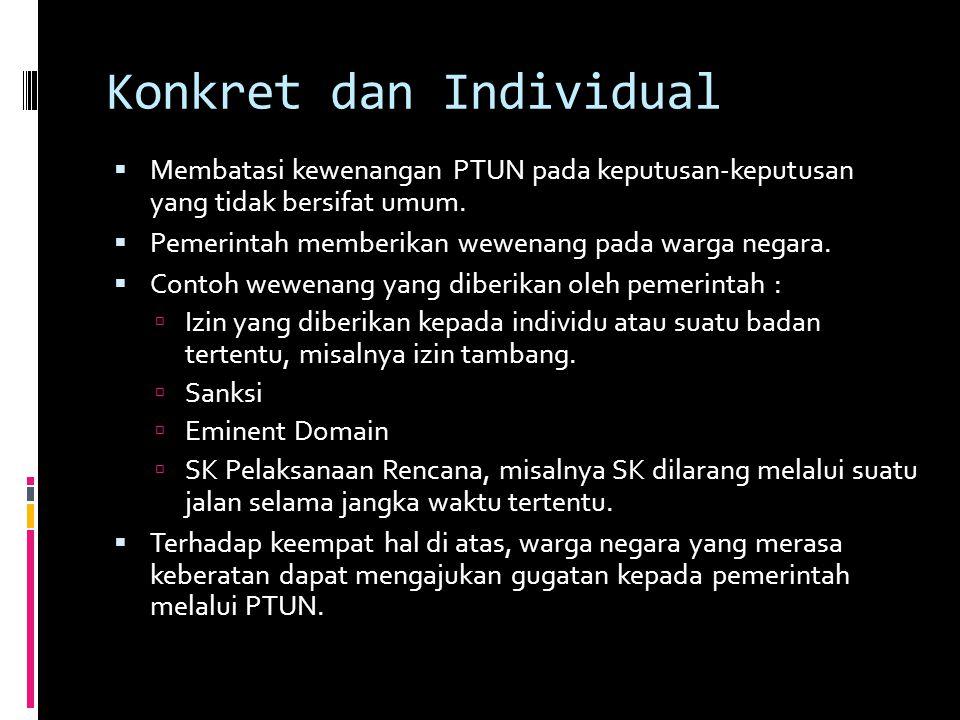 Konkret dan Individual