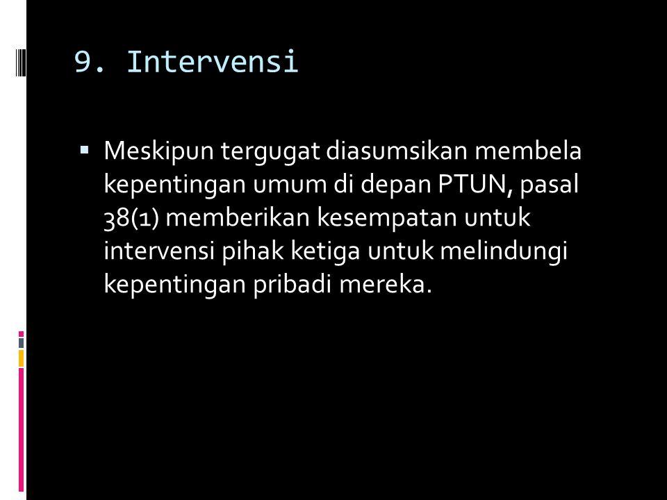 9. Intervensi