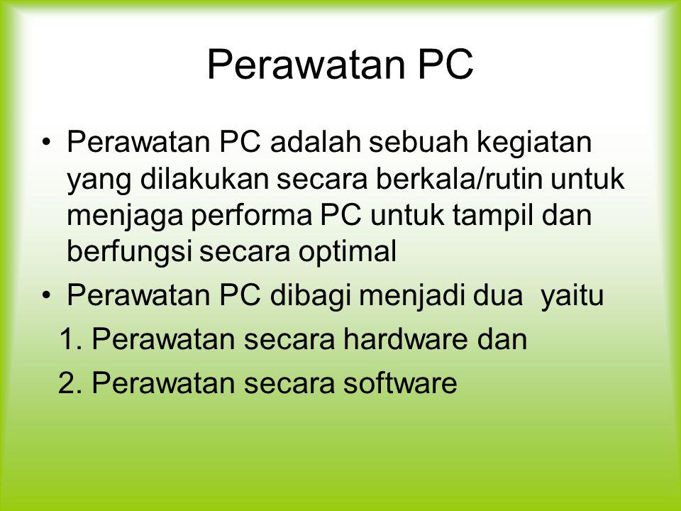 Perawatan PC