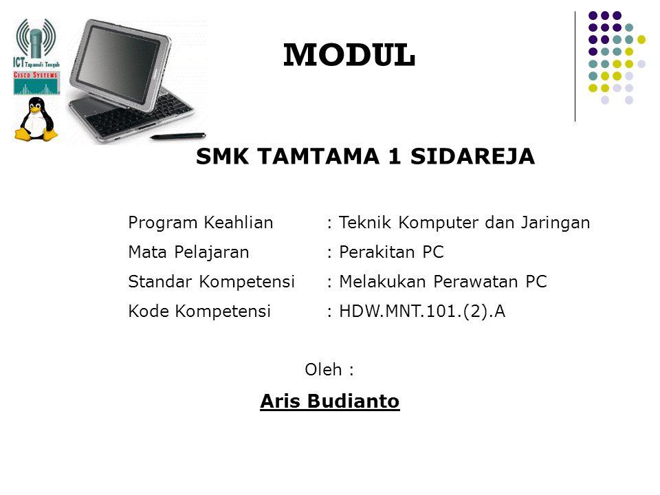 MODUL SMK TAMTAMA 1 SIDAREJA Aris Budianto