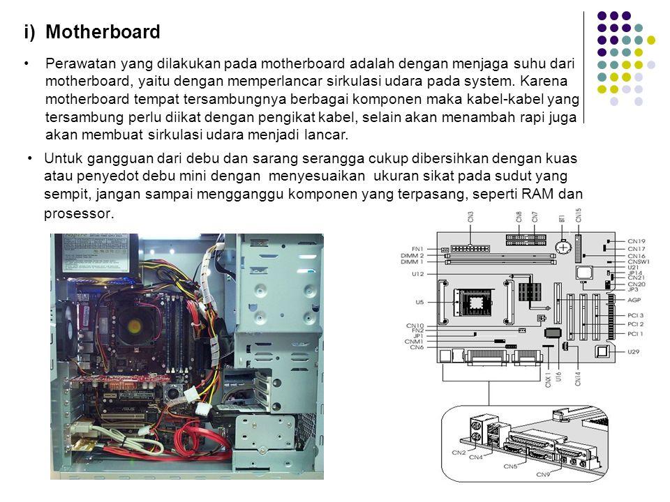 i) Motherboard