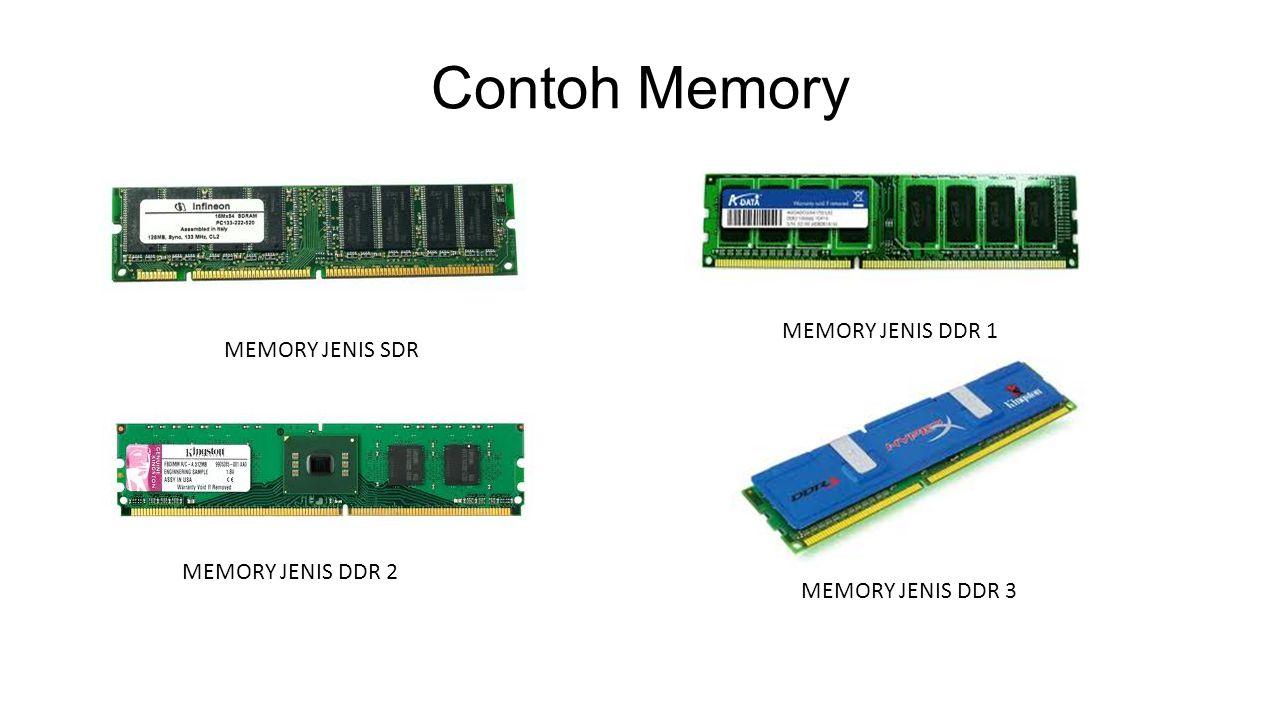 Contoh Memory MEMORY JENIS DDR 1 MEMORY JENIS SDR MEMORY JENIS DDR 2
