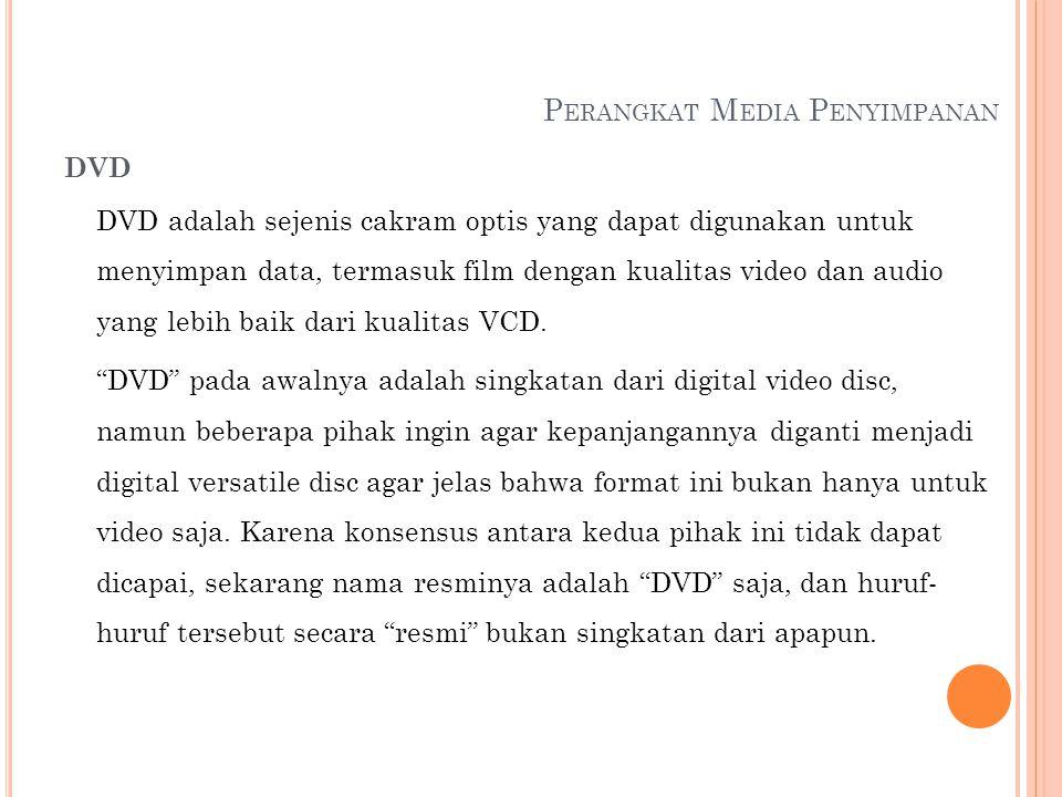 Perangkat Media Penyimpanan