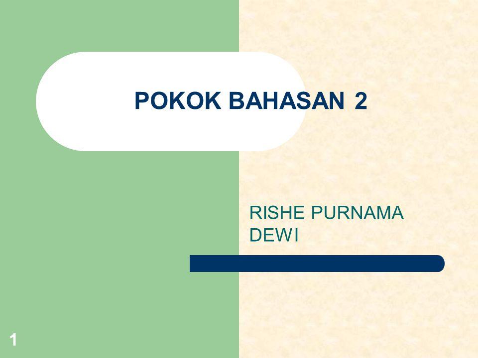POKOK BAHASAN 2 RISHE PURNAMA DEWI