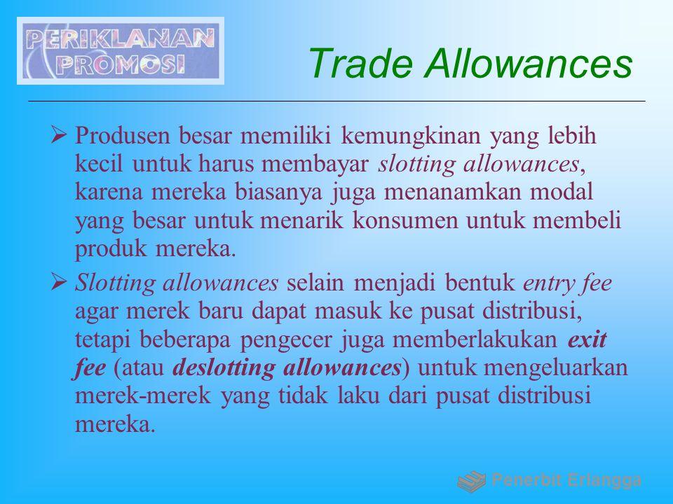 Trade Allowances