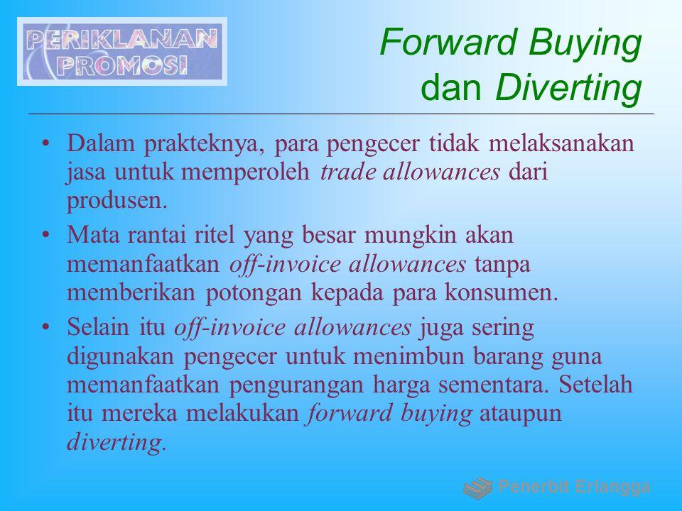 Forward Buying dan Diverting