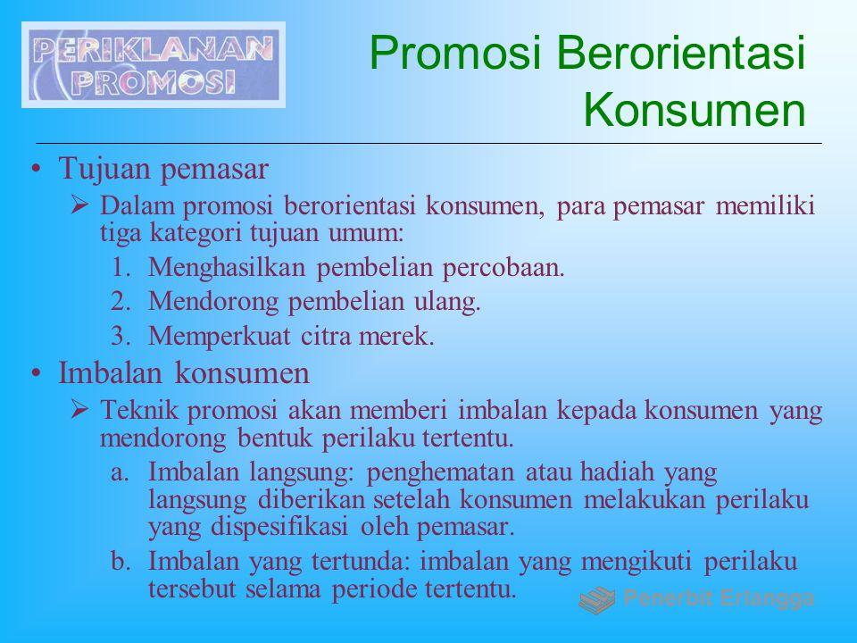 Promosi Berorientasi Konsumen