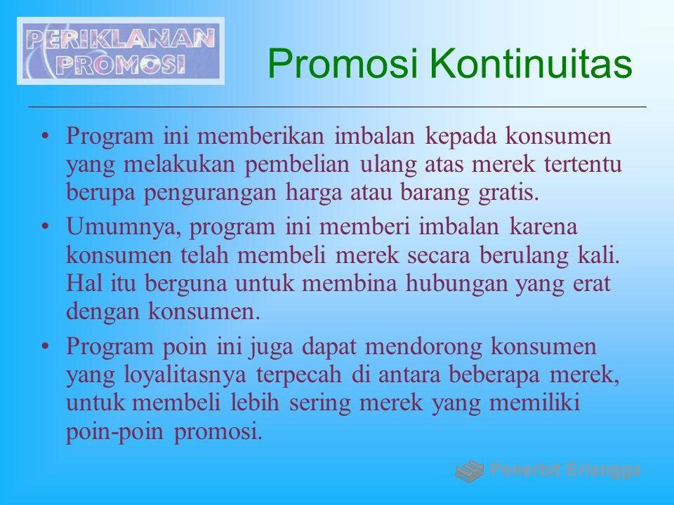 Promosi Kontinuitas