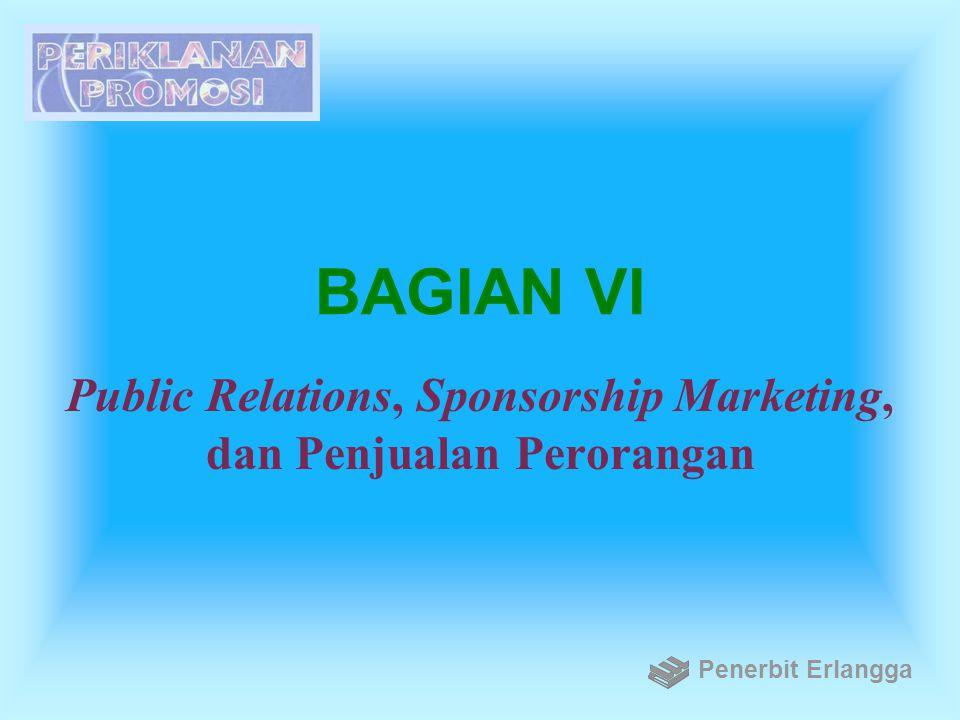 Public Relations, Sponsorship Marketing, dan Penjualan Perorangan