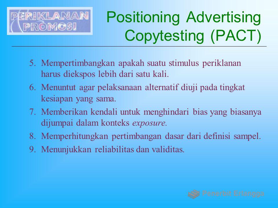 Positioning Advertising Copytesting (PACT)