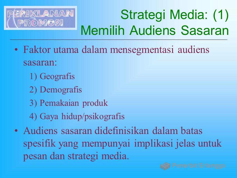 Strategi Media: (1) Memilih Audiens Sasaran