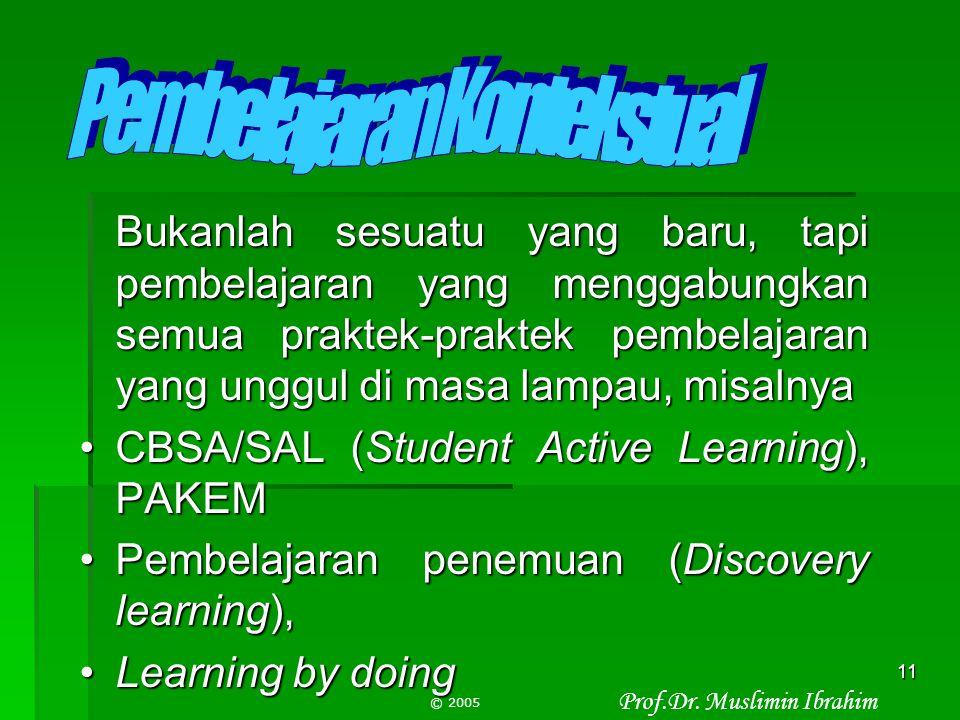 Pembelajaran Kontekstual