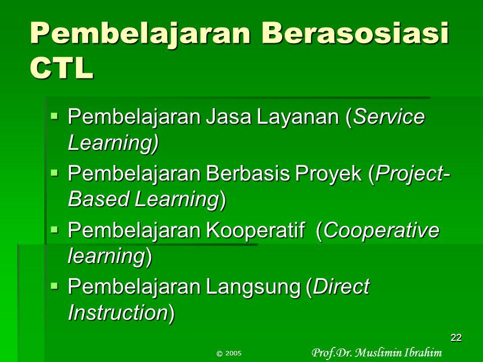 Pembelajaran Berasosiasi CTL