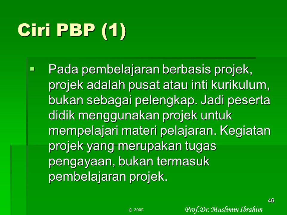 Ciri PBP (1)