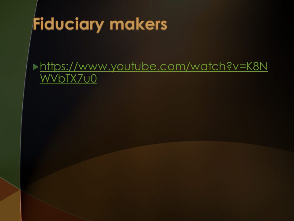 Fiduciary makers https://www.youtube.com/watch v=K8NWVbTX7u0