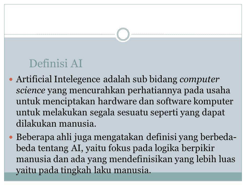 Definisi AI