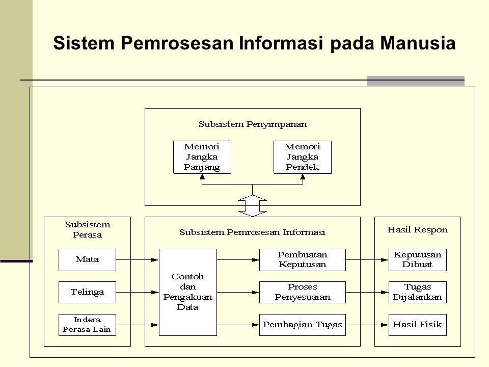 Sistem Pemrosesan Informasi pada Manusia