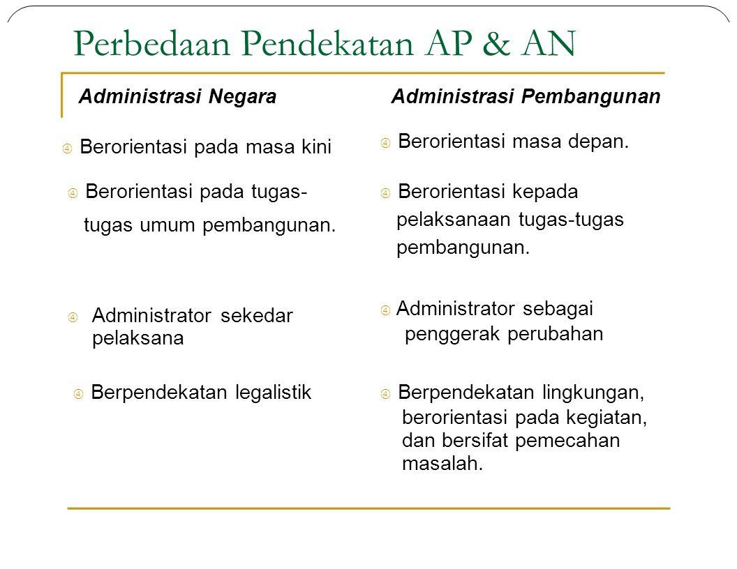 Perbedaan Pendekatan AP & AN