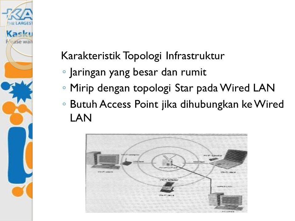 Karakteristik Topologi Infrastruktur