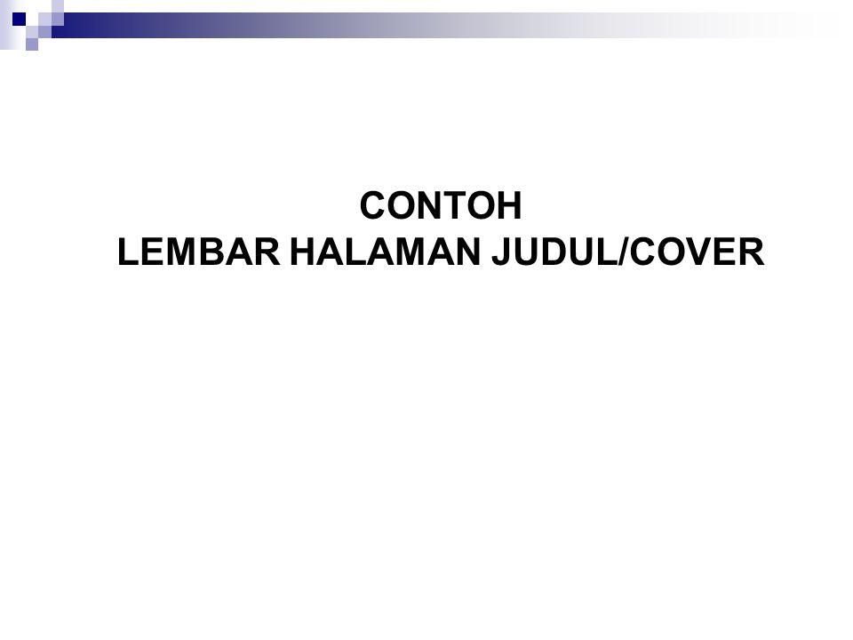 LEMBAR HALAMAN JUDUL/COVER