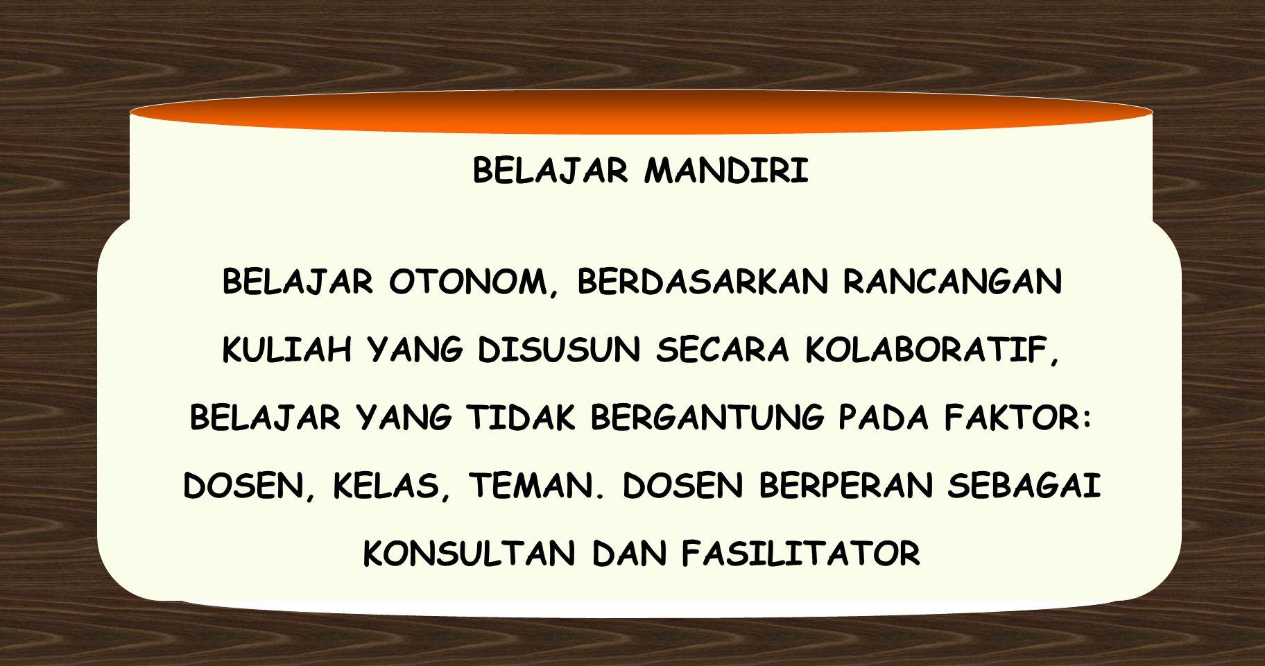 BELAJAR MANDIRI