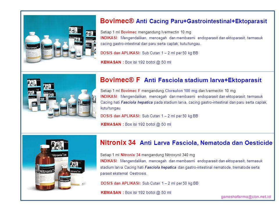 Bovimec® Anti Cacing Paru+Gastrointestinal+Ektoparasit