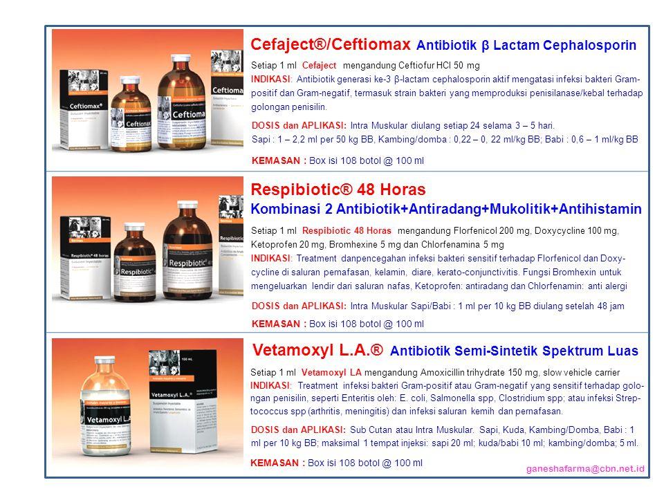 Cefaject®/Ceftiomax Antibiotik β Lactam Cephalosporin