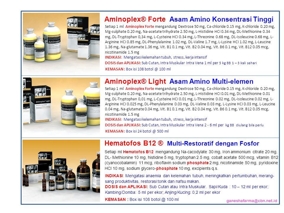 Aminoplex® Forte Asam Amino Konsentrasi Tinggi