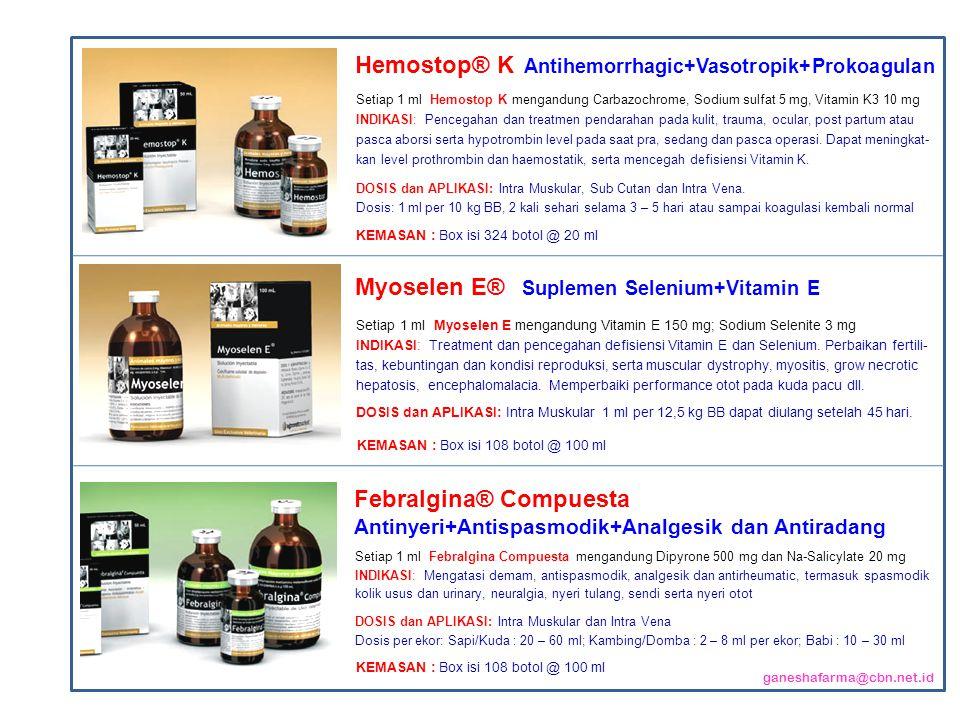 Hemostop® K Antihemorrhagic+Vasotropik+Prokoagulan