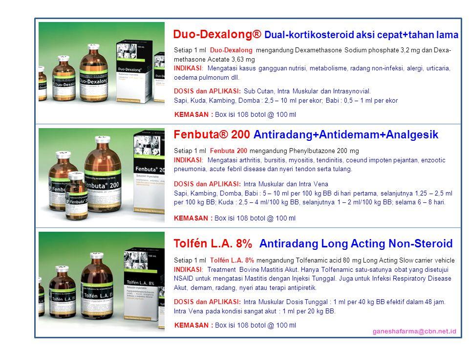 Duo-Dexalong® Dual-kortikosteroid aksi cepat+tahan lama