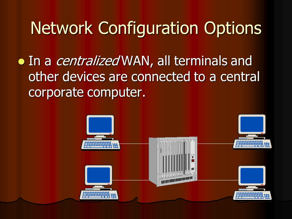 Network Configuration Options
