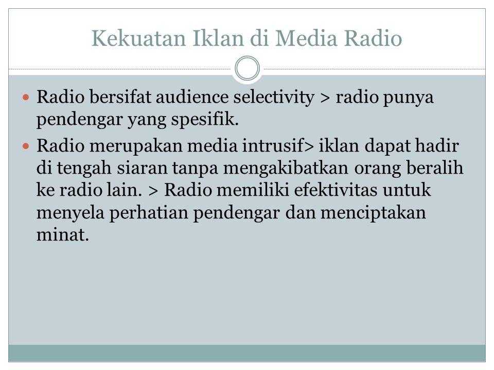 Kekuatan Iklan di Media Radio