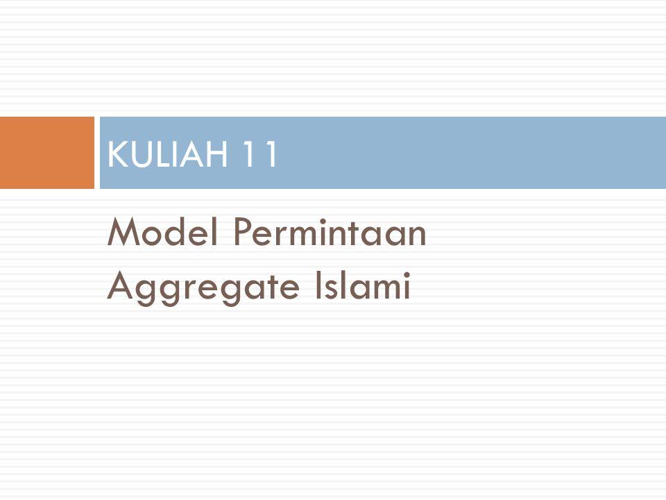 Model Permintaan Aggregate Islami